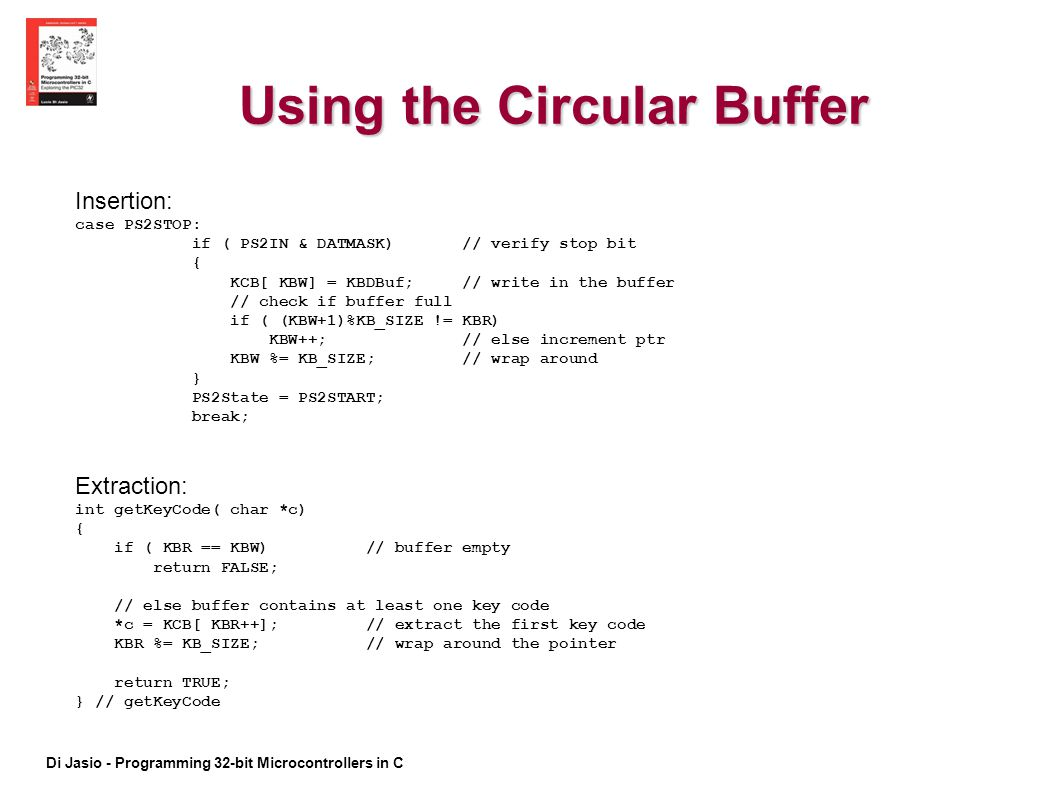 Using the Circular Buffer