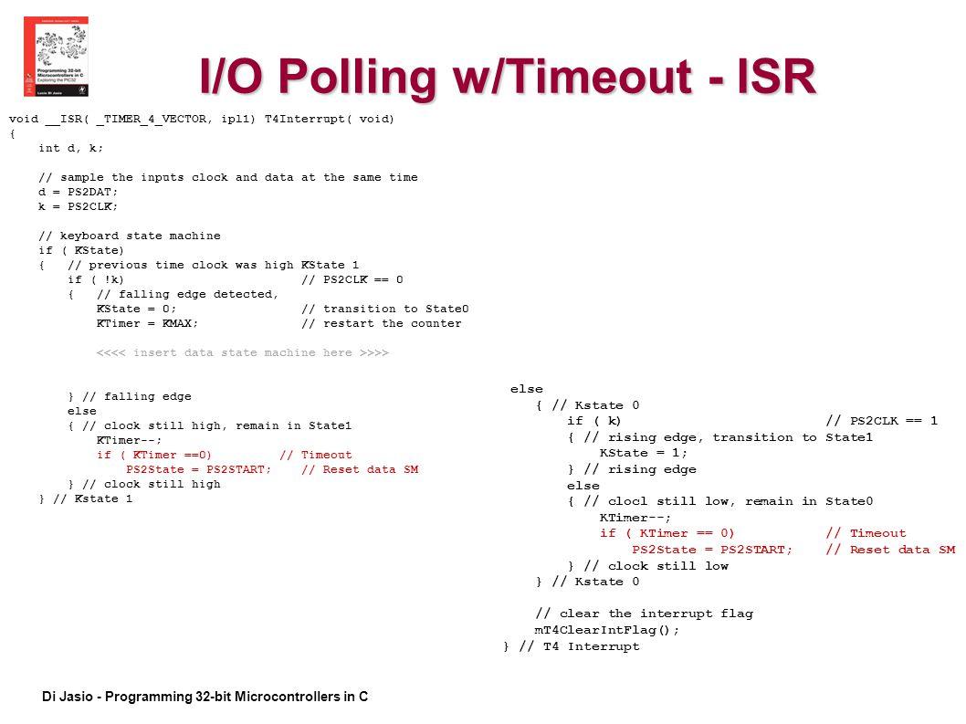 I/O Polling w/Timeout - ISR