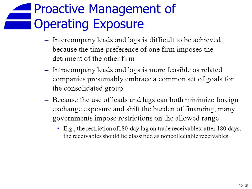 Proactive Management of Operating Exposure