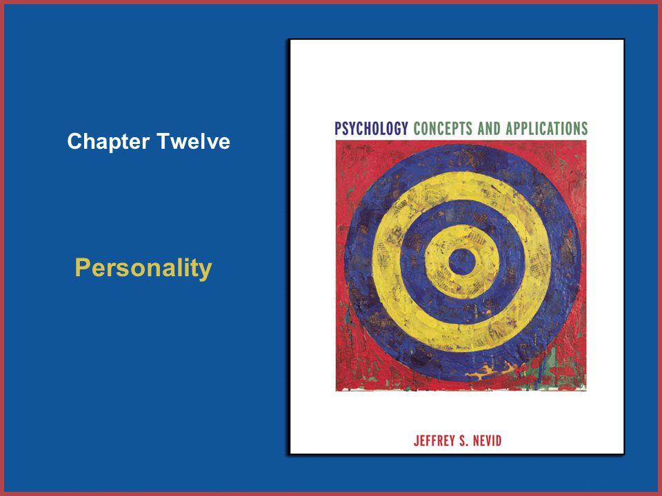 Personality Chapter Twelve