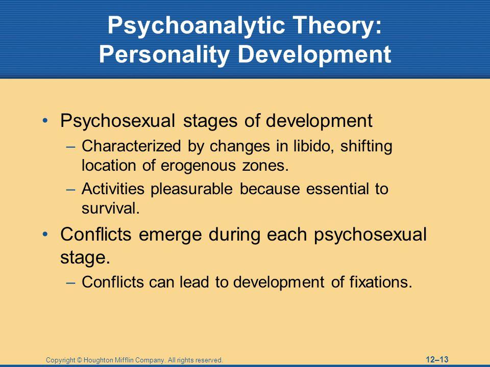 Psychoanalytic Theory: Personality Development