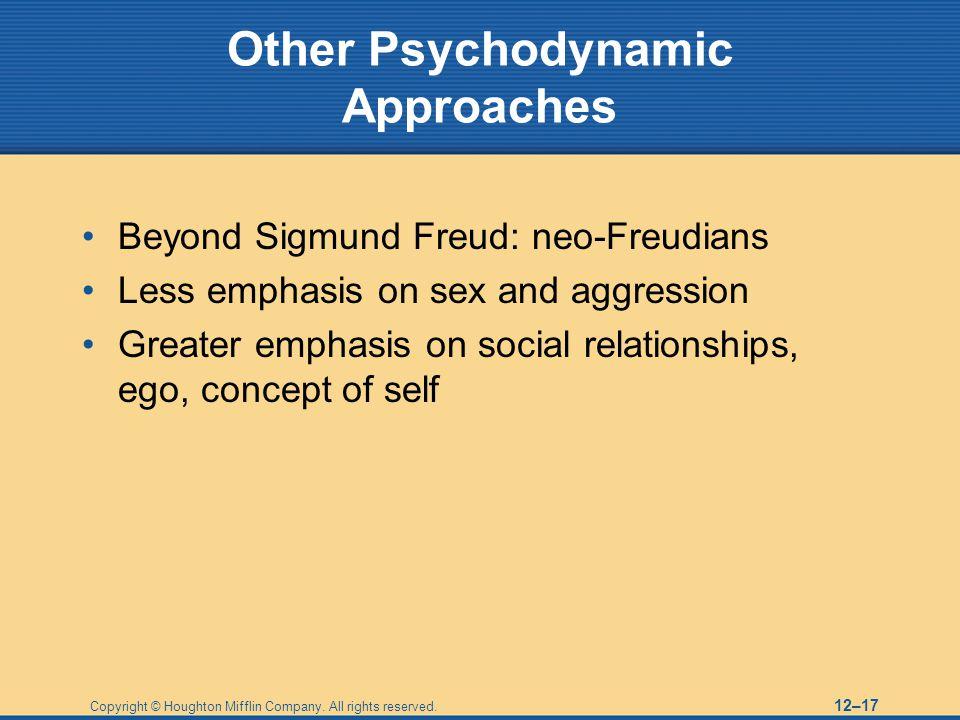 Other Psychodynamic Approaches
