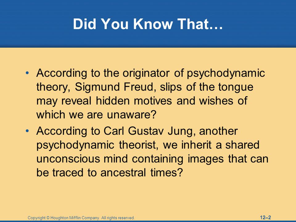 Did You Know That…