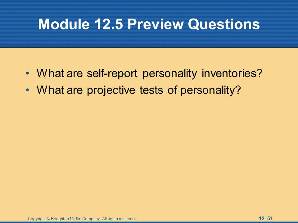 Module 12.5 Preview Questions