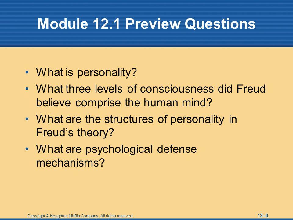 Module 12.1 Preview Questions