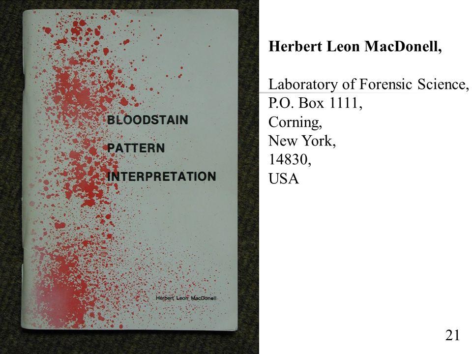 Herbert Leon MacDonell,