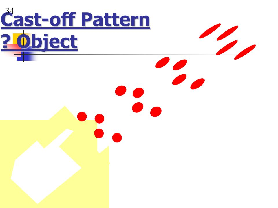 Cast-off Pattern Object