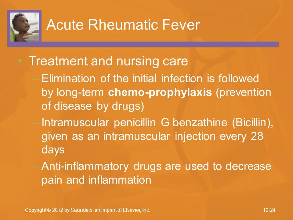 Acute Rheumatic Fever Treatment and nursing care