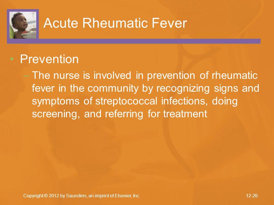 Acute Rheumatic Fever Prevention
