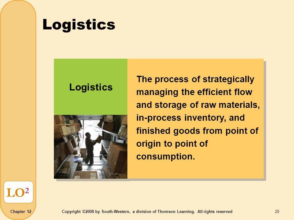 Logistics LO2 Logistics