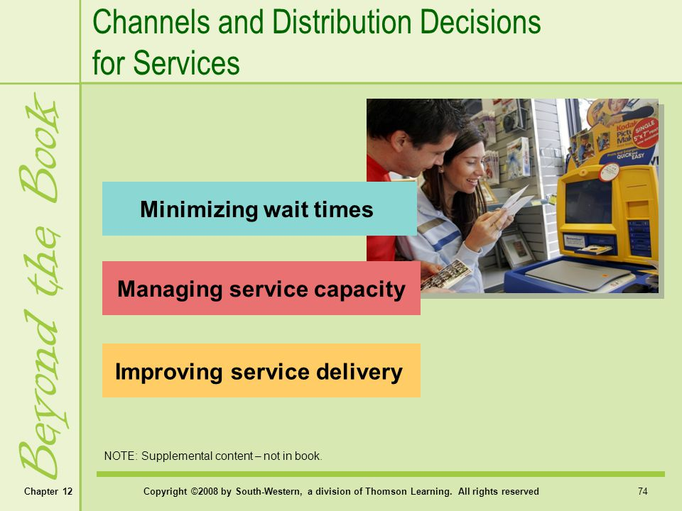 Managing service capacity Improving service delivery