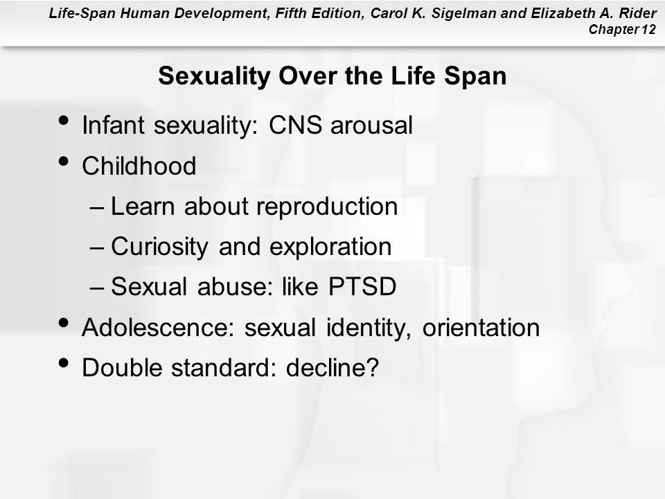 Sexuality Over the Life Span