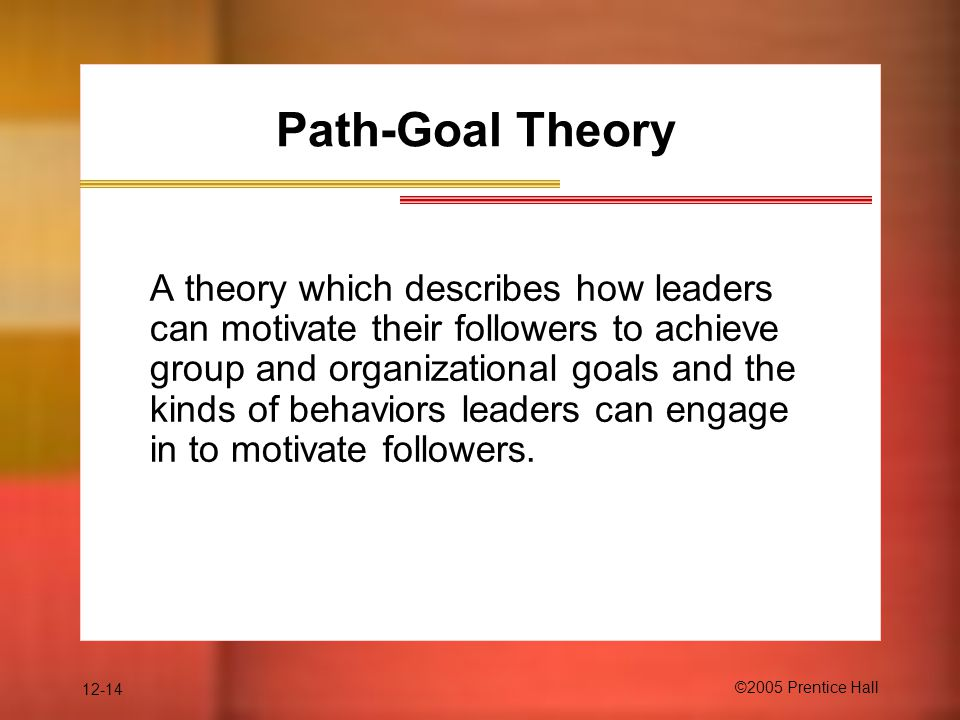 lpc path goal theories