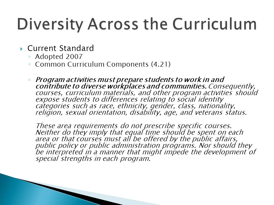 Diversity Across the Curriculum