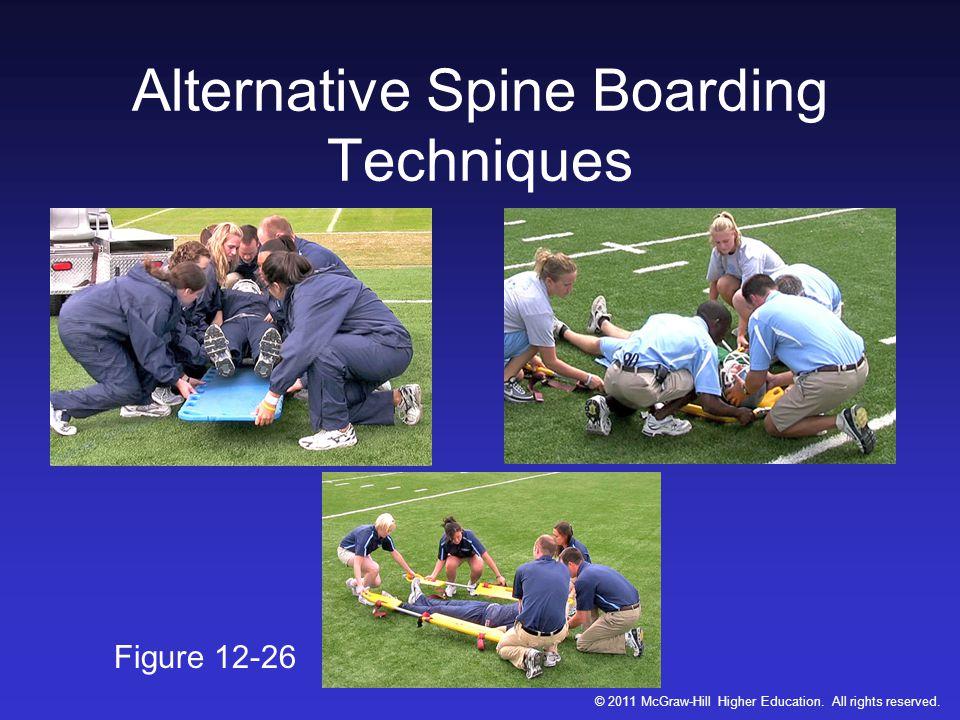 Alternative Spine Boarding Techniques