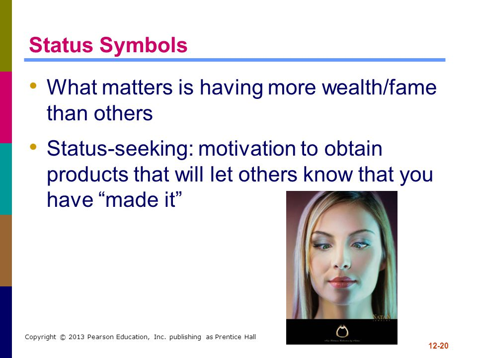 What matters is having more wealth/fame than others