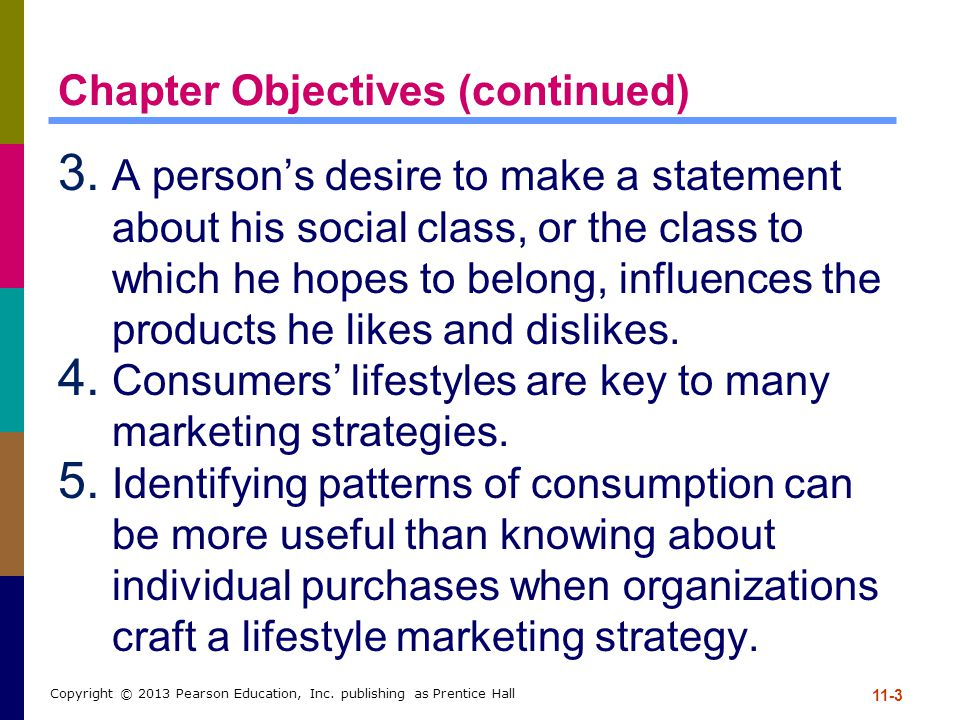 Chapter Objectives (continued)