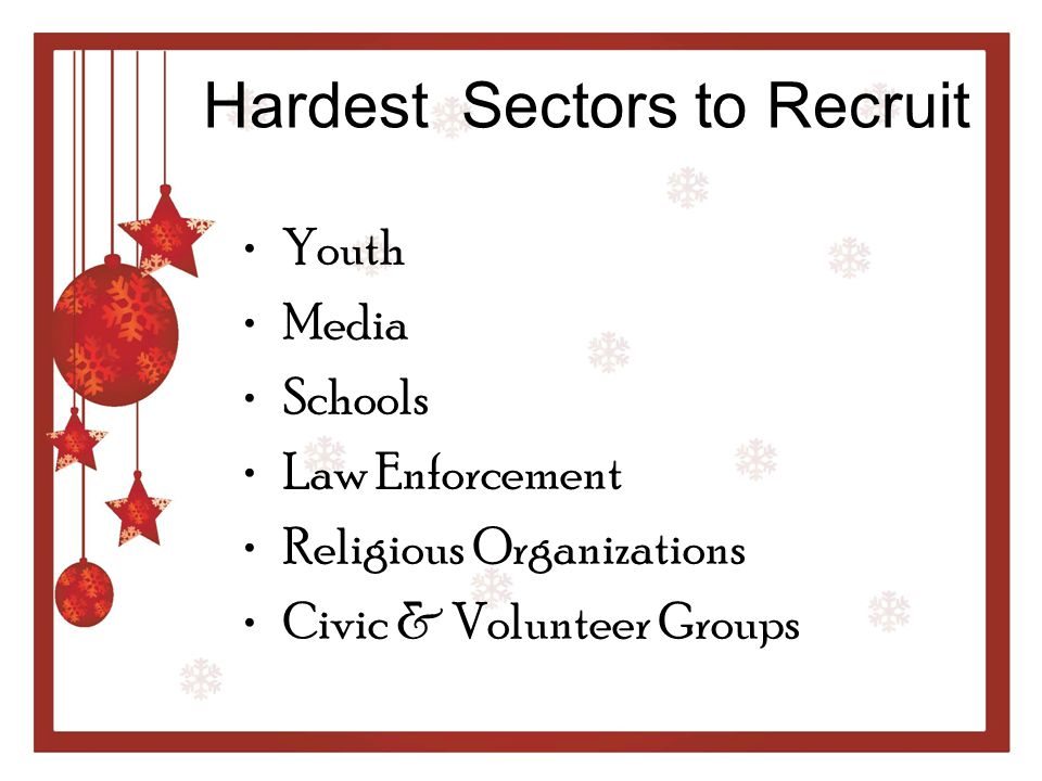 Hardest Sectors to Recruit