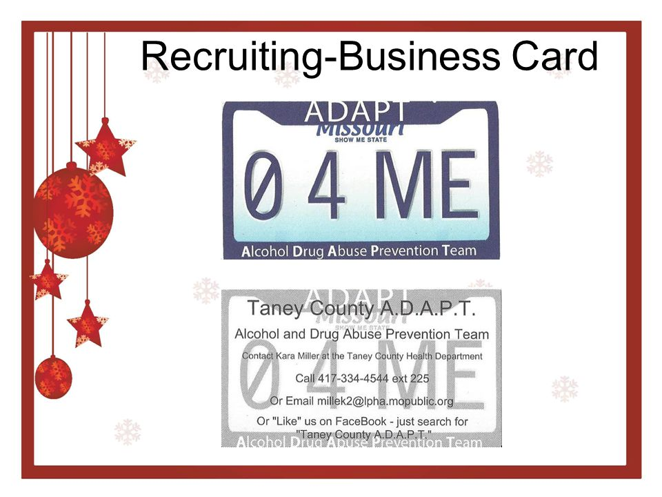 Recruiting-Business Card