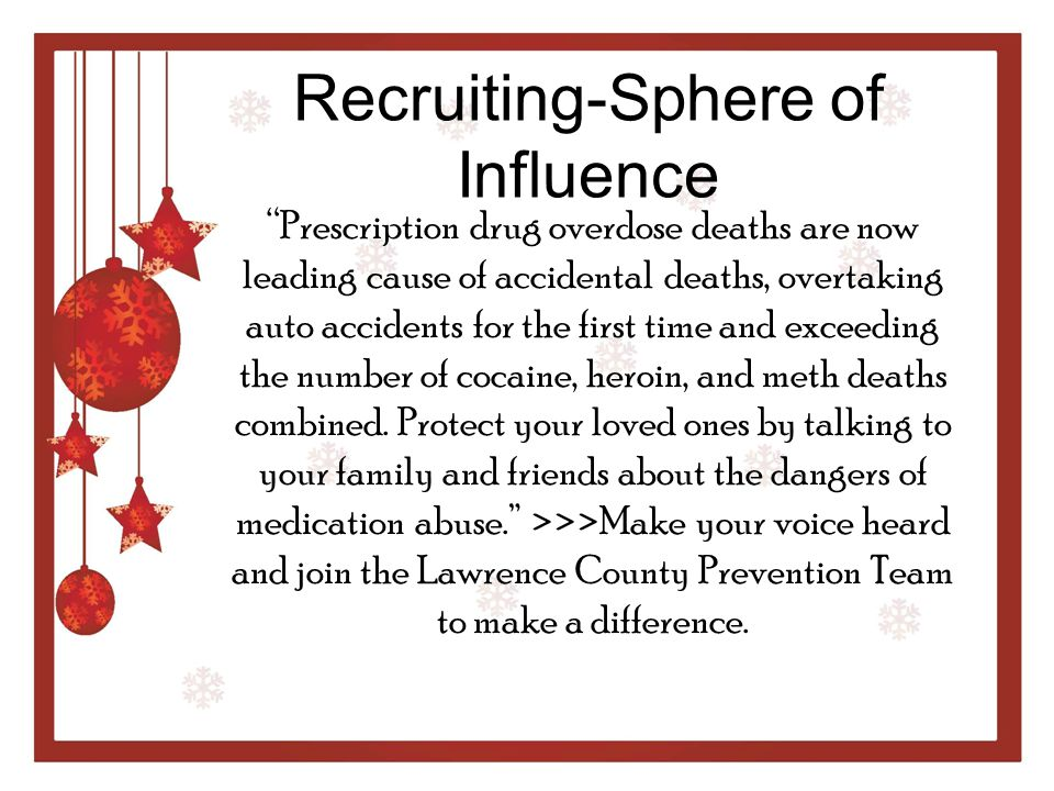 Recruiting-Sphere of Influence