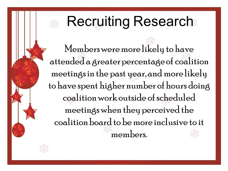 Recruiting Research