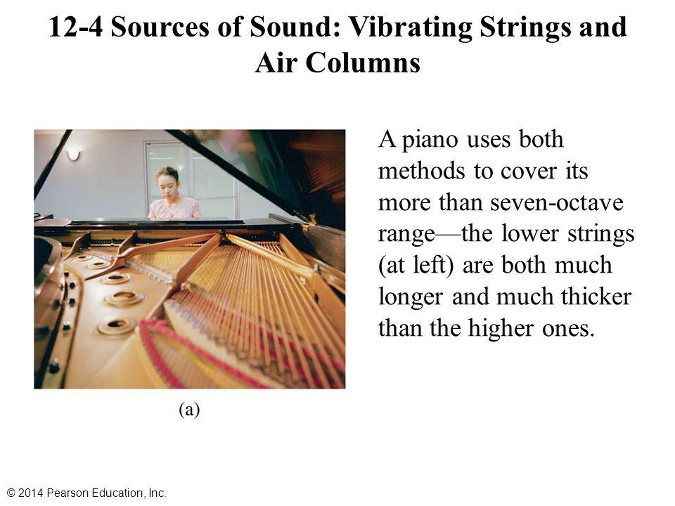 12-4 Sources of Sound: Vibrating Strings and Air Columns