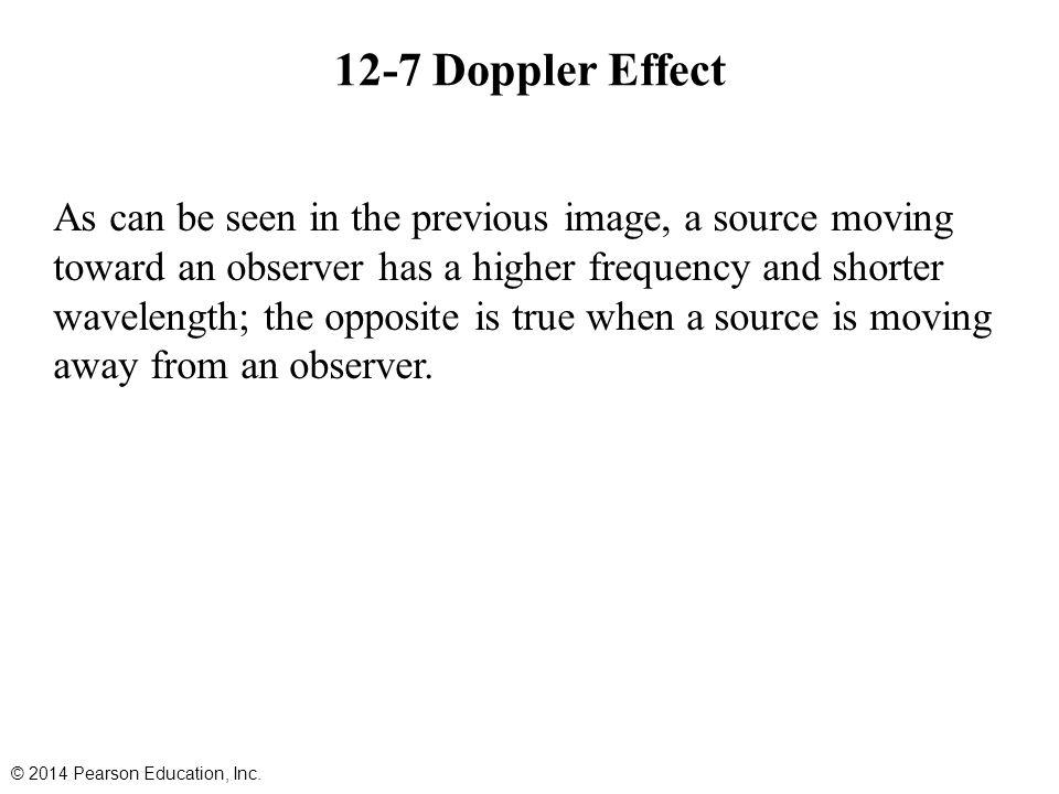 12-7 Doppler Effect