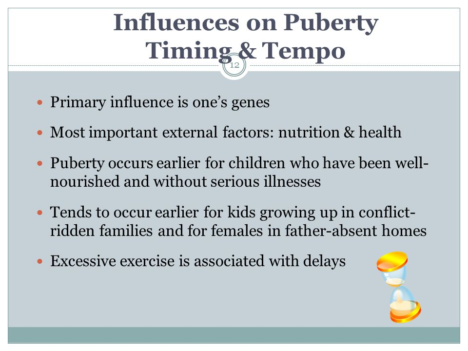 Influences on Puberty Timing & Tempo
