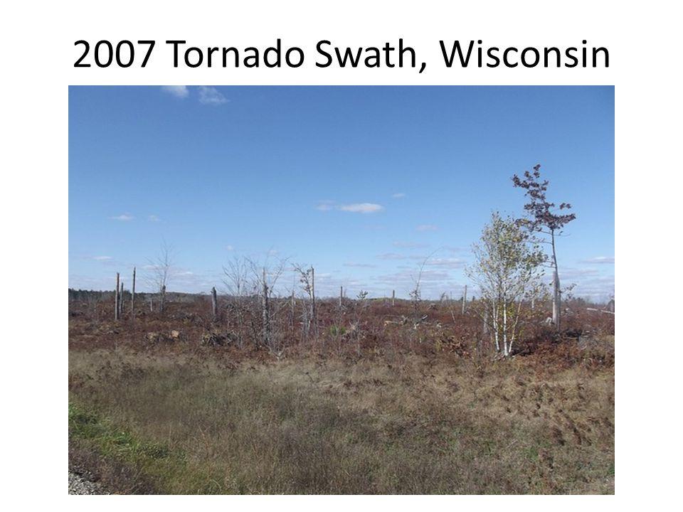 2007 Tornado Swath, Wisconsin