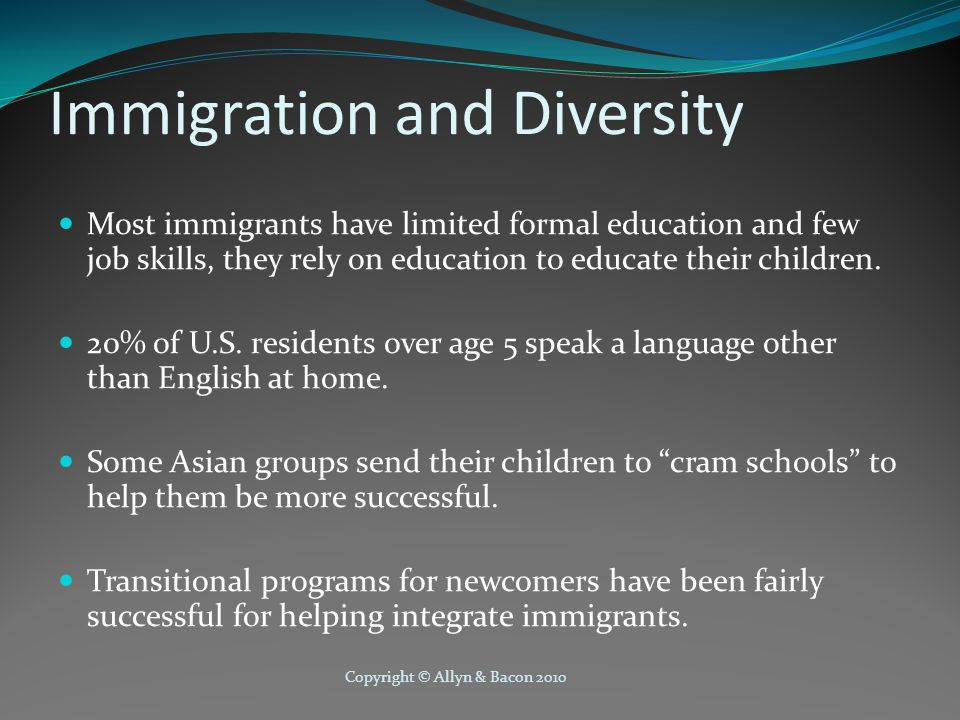 Immigration and Diversity