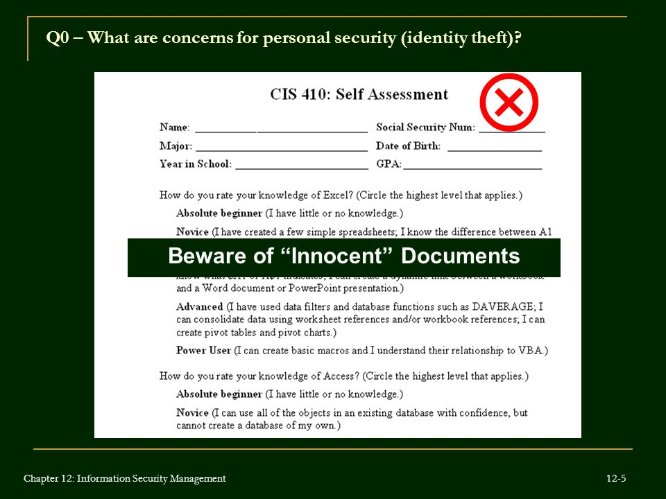 Beware of Innocent Documents