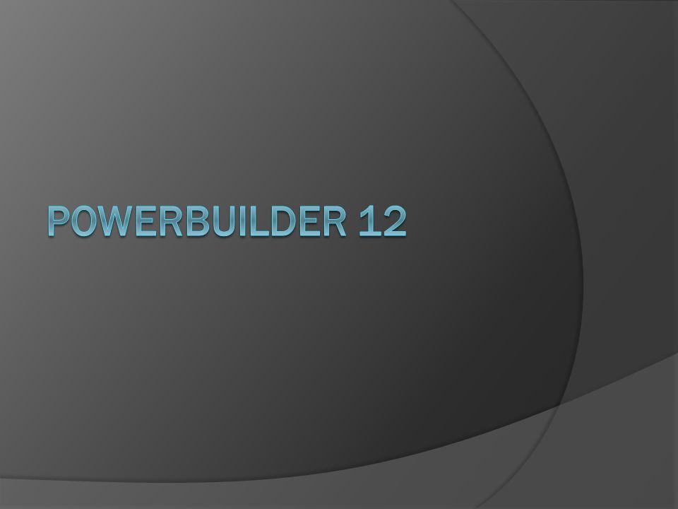 PowerBuilder 12