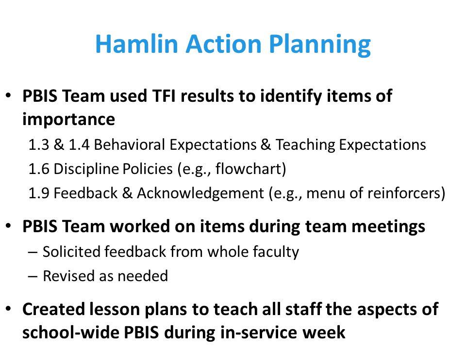 Hamlin Action Planning