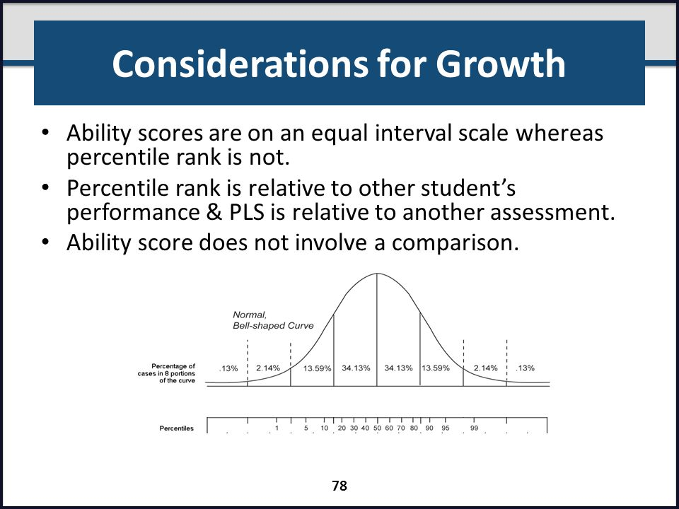 Considerations for Growth