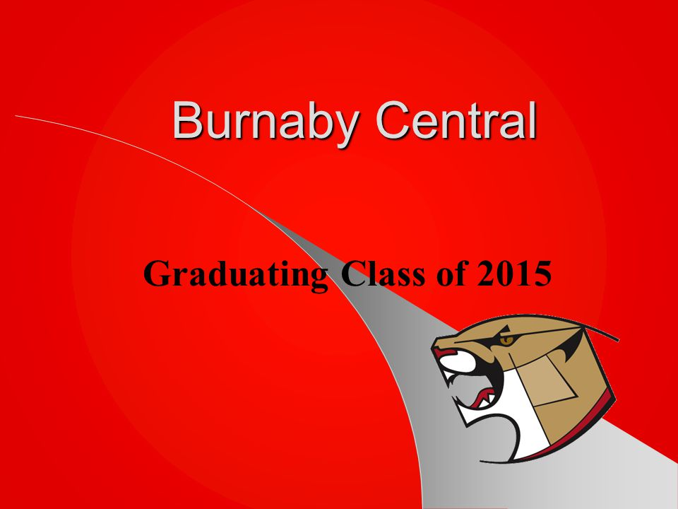 Burnaby Central Graduating Class of 2015