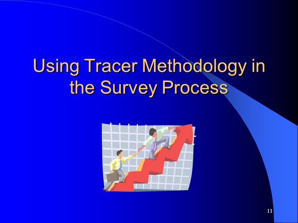 Using Tracer Methodology in the Survey Process