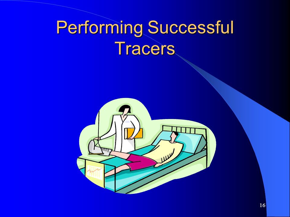 Performing Successful Tracers