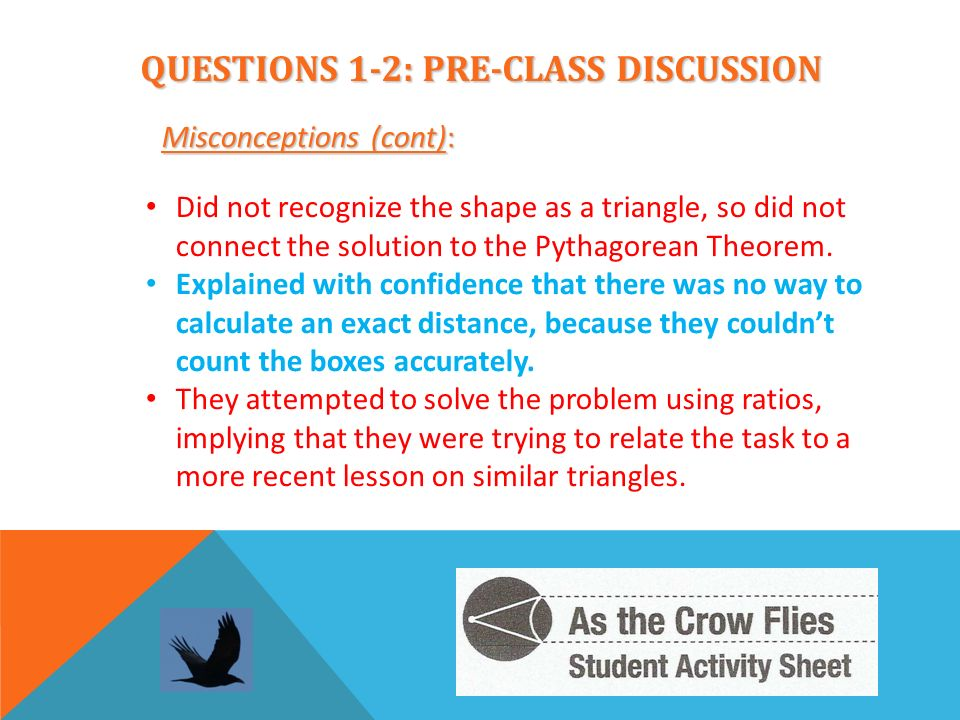 QUESTIONS 1-2: PRE-CLASS DISCUSSION