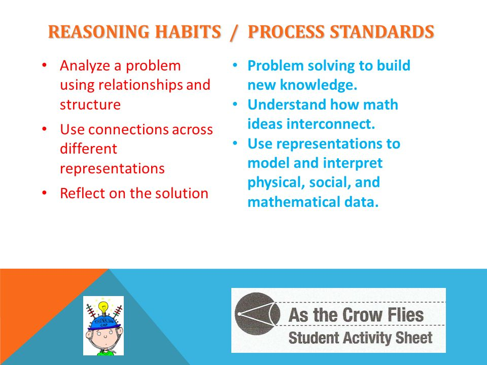 REASONING HABITS / PROCESS STANDARDS