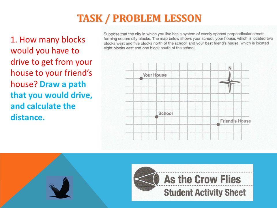 TASK / PROBLEM LESSON