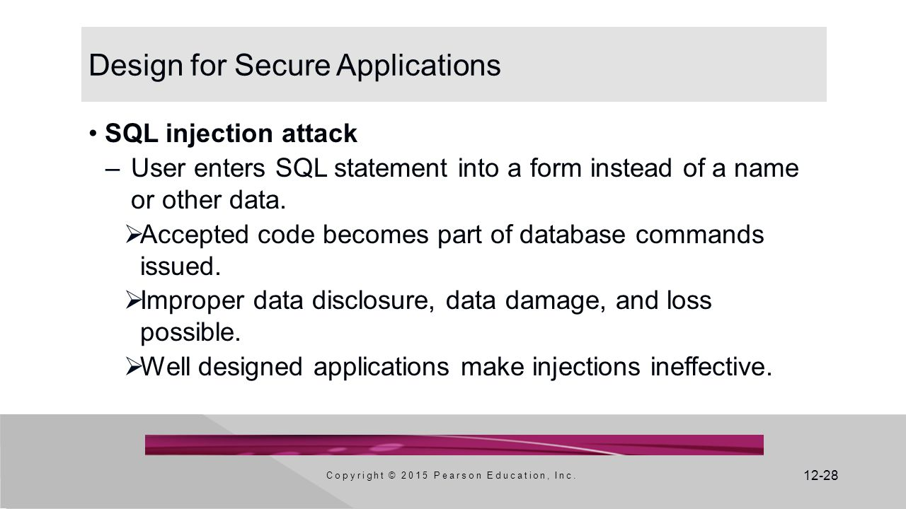 Design for Secure Applications
