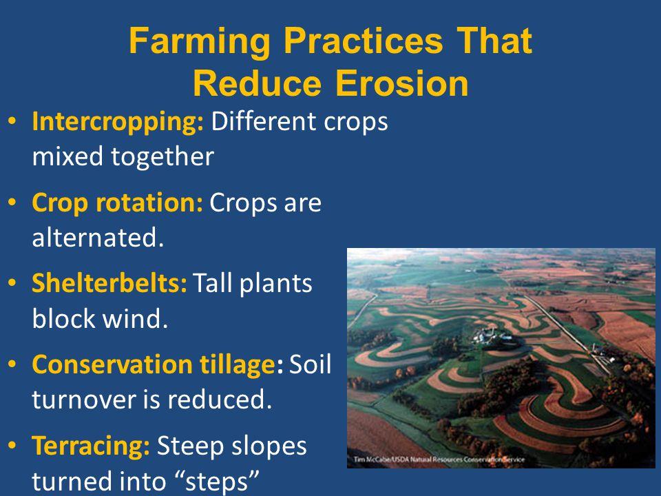 Farming Practices That Reduce Erosion