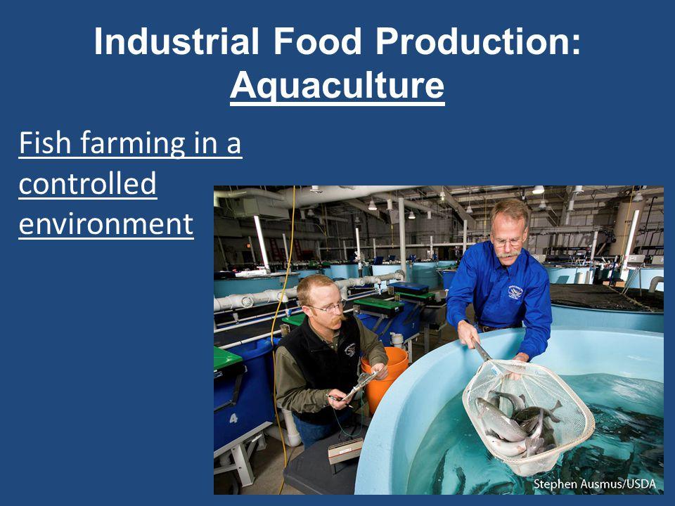 Industrial Food Production: Aquaculture