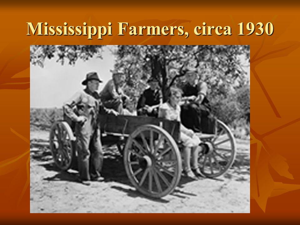 Mississippi Farmers, circa 1930