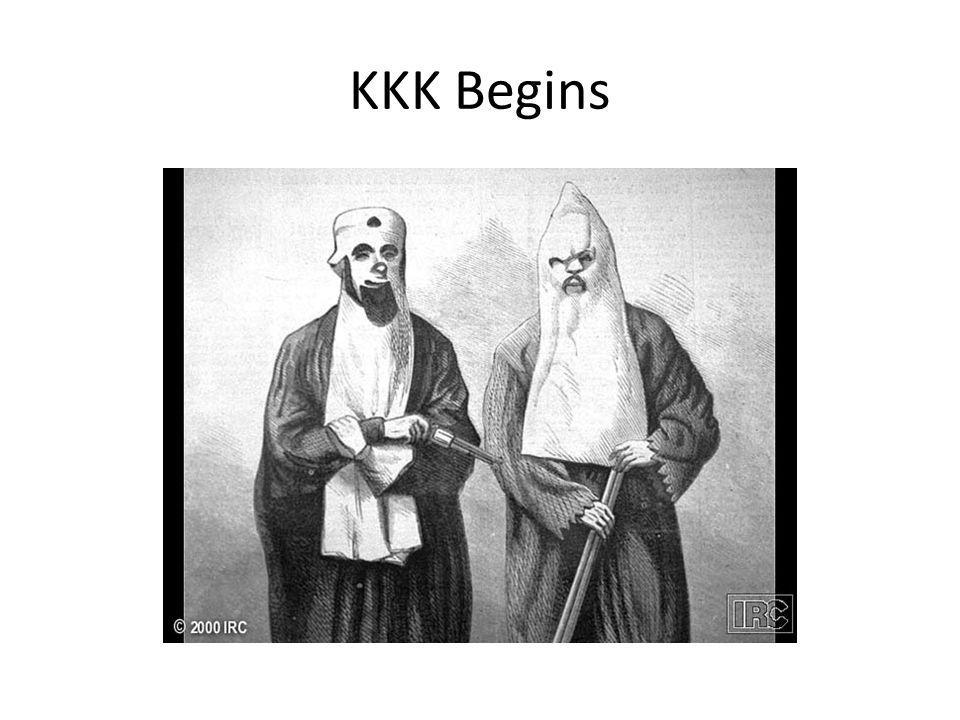 KKK Begins