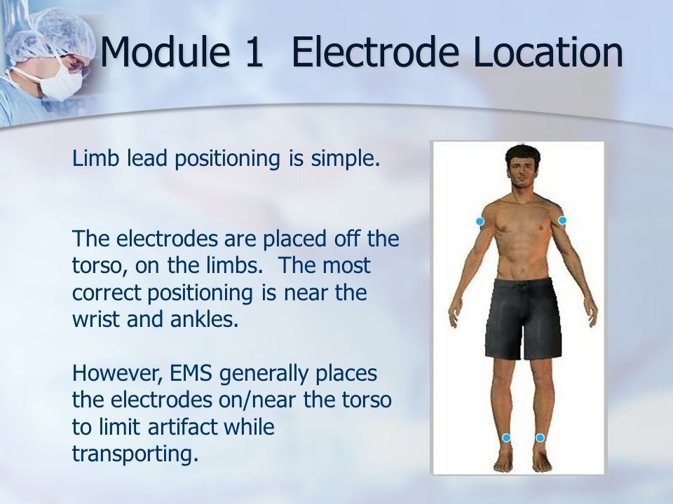 Module 1 Electrode Location
