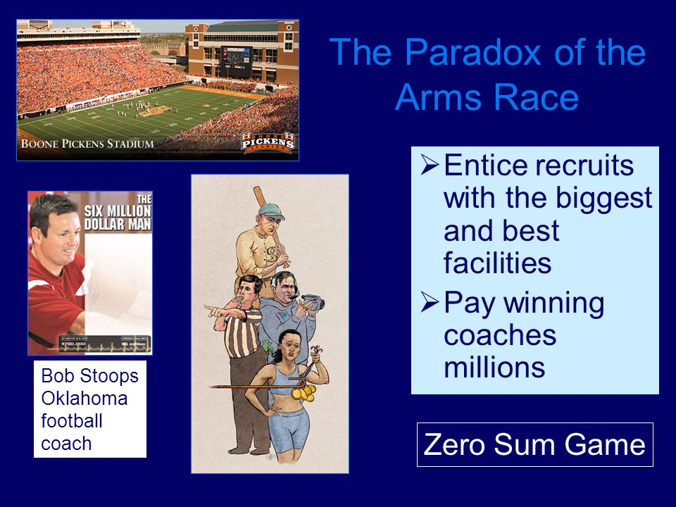 The Paradox of the Arms Race