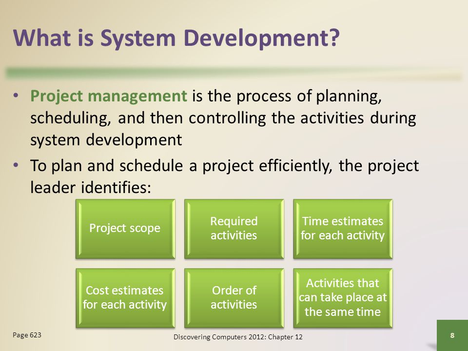 What is System Development