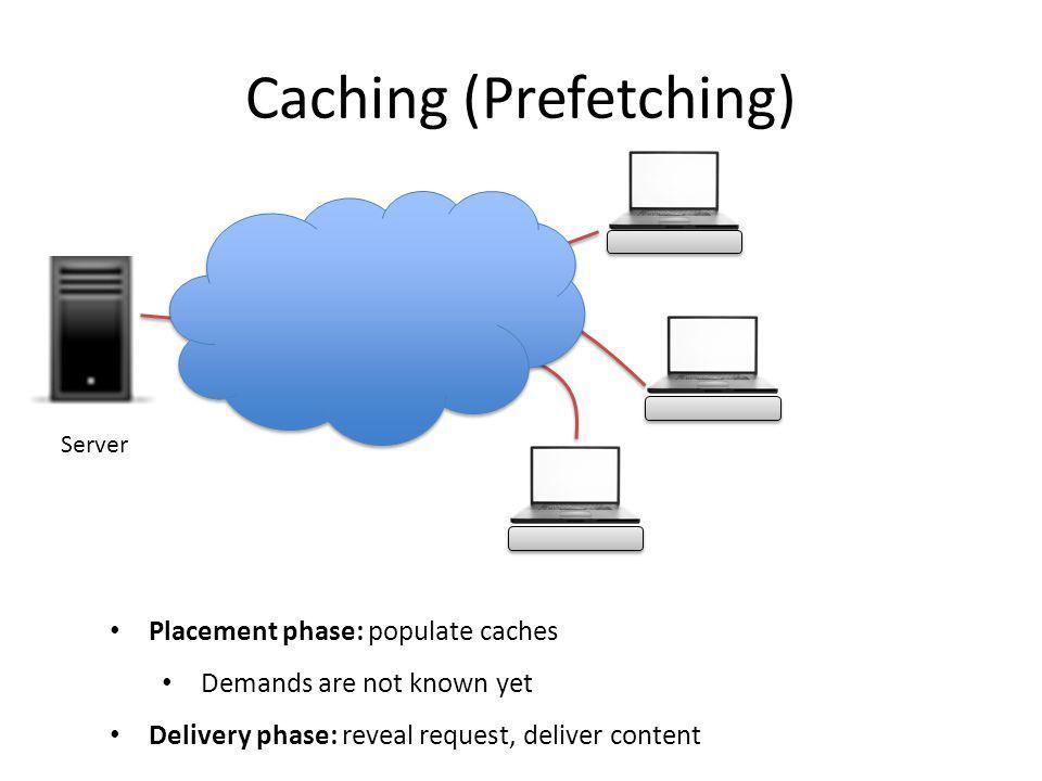 Caching (Prefetching)
