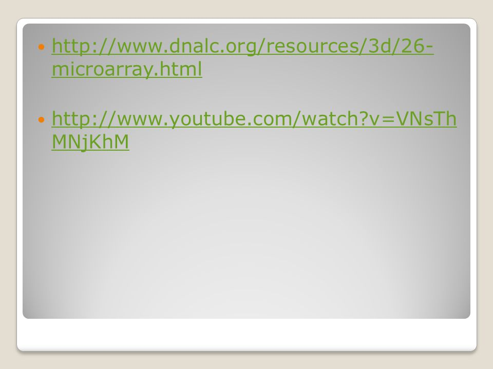 http://www.dnalc.org/resources/3d/26- microarray.html